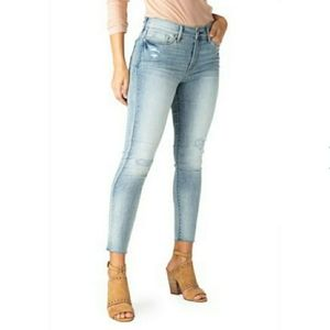 Levi Strauss High Rise Skinny Ankle Jeans Size 10